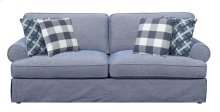 Emerald Home Mt Retreat Sofa W/4 Pillows Pool Blue U6001-00-08
