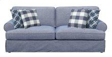 Emerald Home Mt Retreat Sofa W/4 Pillows Pool Blue U6001-00-08