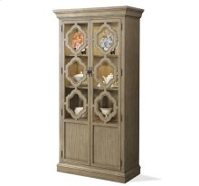 Corinne Display Cabinet Sun-drenched Acacia finish