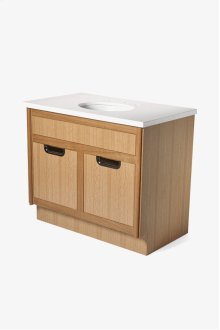 """Alta Single Vanity Packaged with Sink and Slab Top 39"""" x 23 1/2"""" x 34 1/4"""" STYLE: ALVN02"""