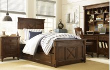 Big Sur by Wendy Bellissimo Highlands Panel Bed Twin