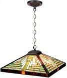 Hanging Lamp - Geometry Tiffany Shade, Type G 40wx2 Product Image