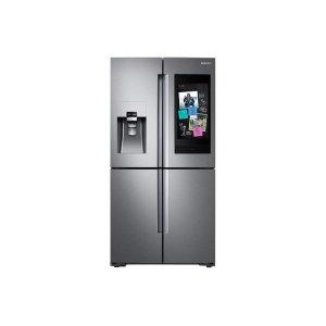 28 cu. ft. Family Hub 4-Door Flex Refrigerator in Stainless Steel - FINGERPRINT RESISTANT STAINLESS STEEL