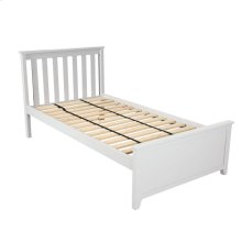 Twin Bed White