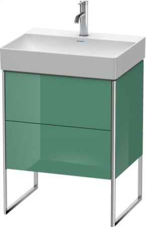 Vanity Unit Floorstanding, For Durasquare # 235360jade High Gloss Lacquer
