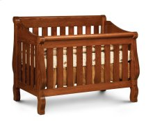 Sleigh Convertible Crib