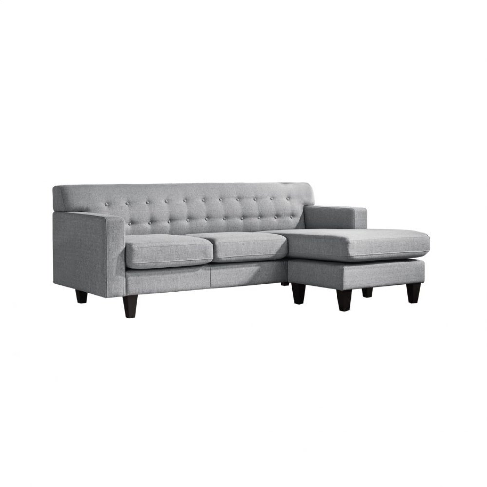 Airling Reversible Sectional Dark Grey