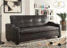 Futon/Sofa Dark Brown PU Product Image