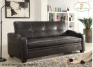 Futon/Sofa Dark Brown PU Product Image