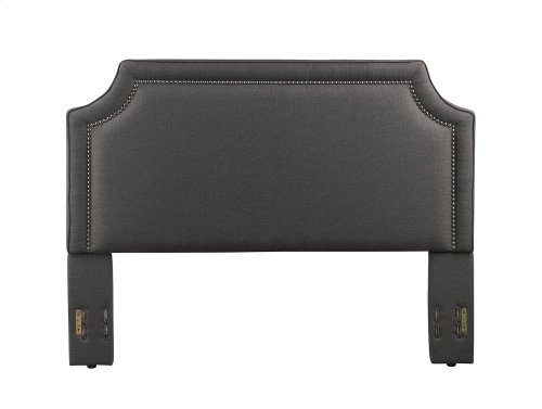 Brantford Headboard - Full/Queen, Charcoal
