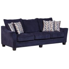 Ventura Blue Sofa, Love, Chair, U0059