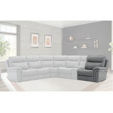 Mason Charcoal Power Right Arm Facing Recliner