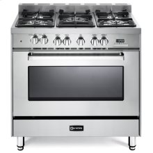 "Stainless Steel 36"" Dual Fuel Single Oven Range - 'N' Series***FLOOR MODEL CLOSEOUT PRICE***"