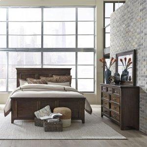 Liberty Furniture IndustriesQueen Panel Bed, Dresser & Mirror