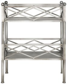 Jamese Storage Shelves - Silver