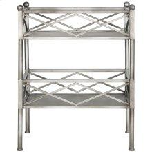 Jamese Storage Shelves - Silver