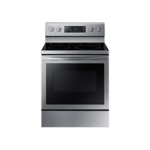 Samsung5.9 cu. ft. Freestanding Electric Range with Air Fry and Convection in Stainless Steel