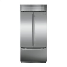 BI-42UFD Over-and-Under with French Door - Classic Stainless