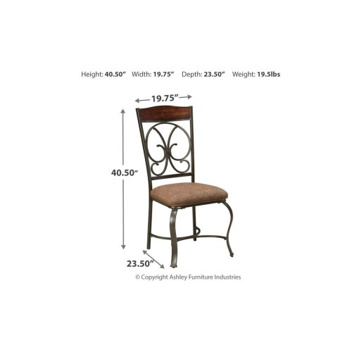Dining Uph Side Chair (4/cn)