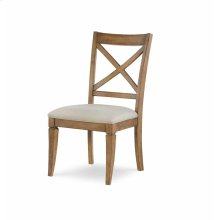 X Back Side Chair - Nutmeg
