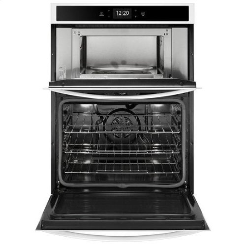 Whirlpool® 6.4 cu. ft. Smart Combination Wall Oven with Touchscreen - White