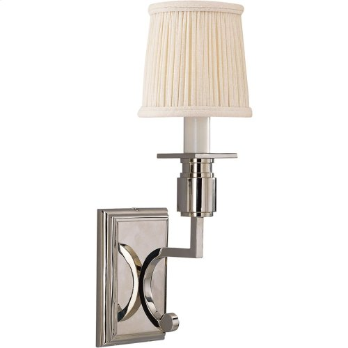 Visual Comfort SC2106PN Eric Cohler Tyler 1 Light 4 inch Polished Nickel Decorative Wall Light
