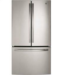 """36"""" Bottom mount French door refrigerator, 26.7 cu.ft"""