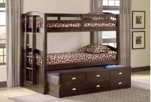 Maddock Twin over Twin Captain's Bunk Bed