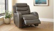 "Wyatt Power Recliner Chair, Grey, 35""x39""x40"" Product Image"