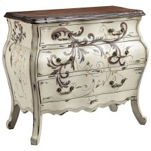 Busey 3-drawer Bombe Chest