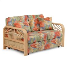 Tight Back Loveseat Natural Finish 883L