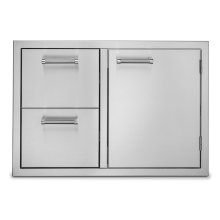 """30"""" Double Drawer and Access Door Combo"""