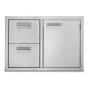 Viking30�W. Double Drawer and Access Door Combo