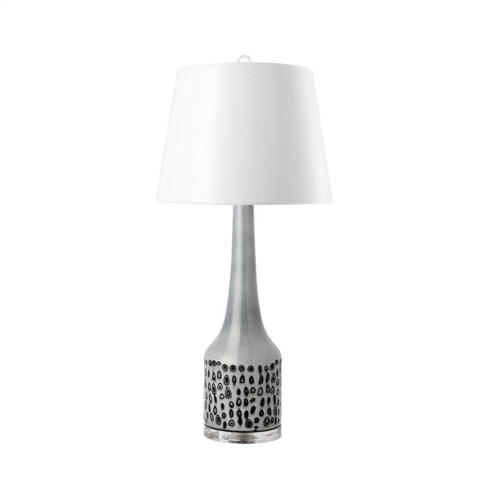 Baker Lamp, Gray