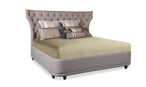 Classics Queen Upholstered Platform Bed