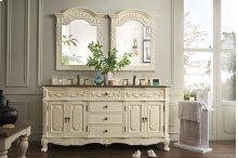 """Naples Classico 72"""" Double Bathroom Vanity"""
