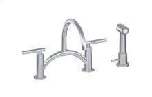 Sospiro Bridge Bar/Prep Faucet w/ Independent Side Spray