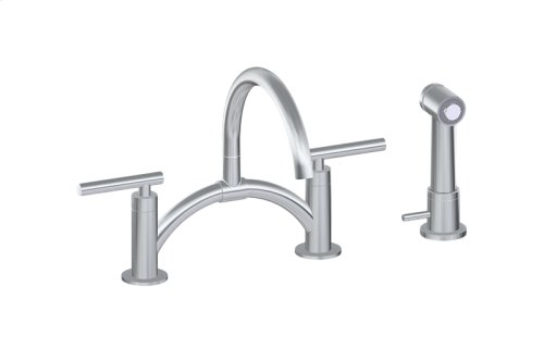 Sospiro Bridge Bar/Prep Faucet w/ Independent Side Spray