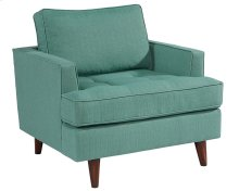 Turquoise MCM Chair