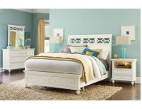 Queen Sleigh Bed Ccomplete Product Image