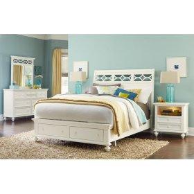 Queen Sleigh Bed Complete