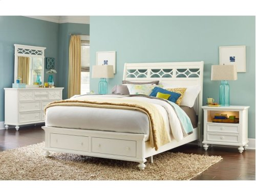 Queen Sleigh Bed Ccomplete