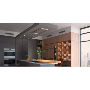 "36"" Ceiling-Mounted Hood - Stainless Steel"