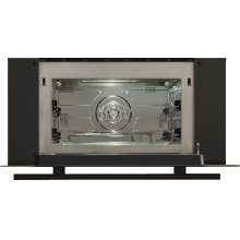 """SPEED OVEN 30"""" BLACK SIDE TRIM KIT WITH 3/4"""" BLACK CONTEMPORARY TUBULAR HANDLE"""