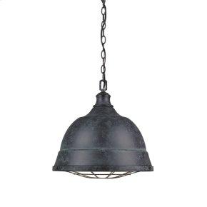 Bartlett 2 Light Pendant in Black Patina