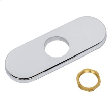 Deck Plates for Serin Sensor-Operated Faucets - Polished Chrome