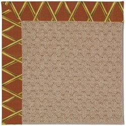 Creative Concepts-Grassy Mtn. Bamboo Cinnamon Machine Tufted Rugs