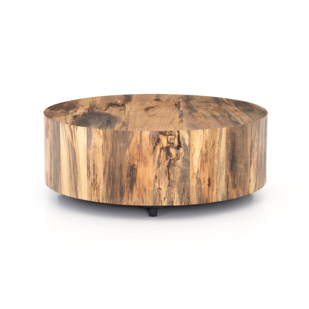 Spalted Primavera Finish Hudson Coffee Table