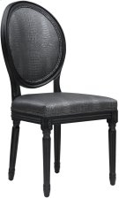 Philip Grey Croc Side Chair - Set of 2 Product Image