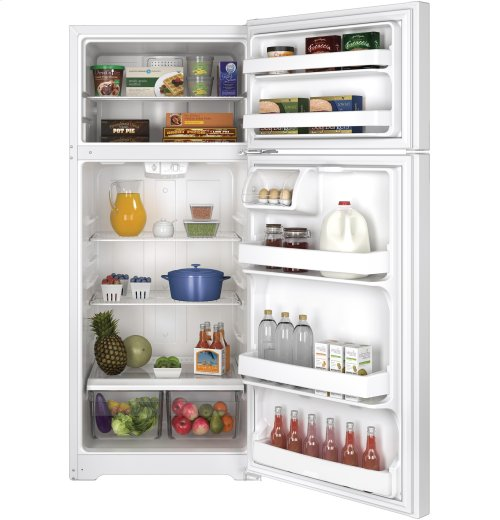 GE® 17.5 Cu. Ft. Top-Freezer Refrigerator